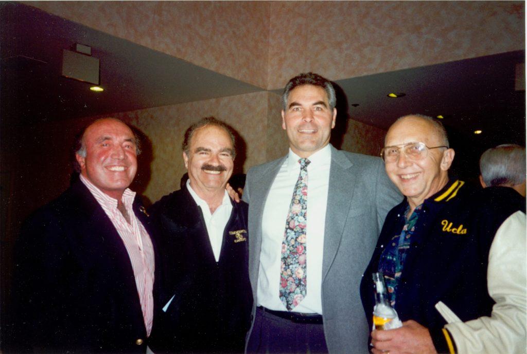 Ron Krajian, ?, Ed Kezirian & Dr. Eugune Boston