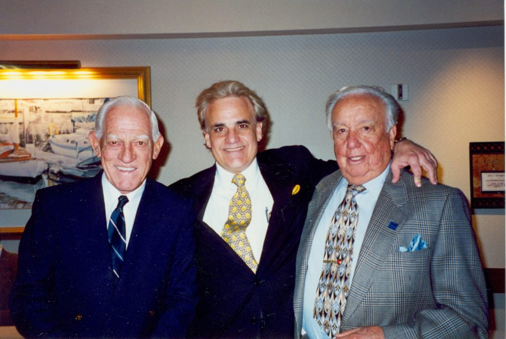 Sparky Anderson, Jack Kayajanian, Rod Dedeaux