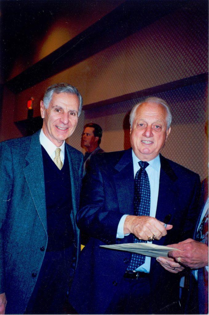 George Deukmejian & Tommy Lasorda