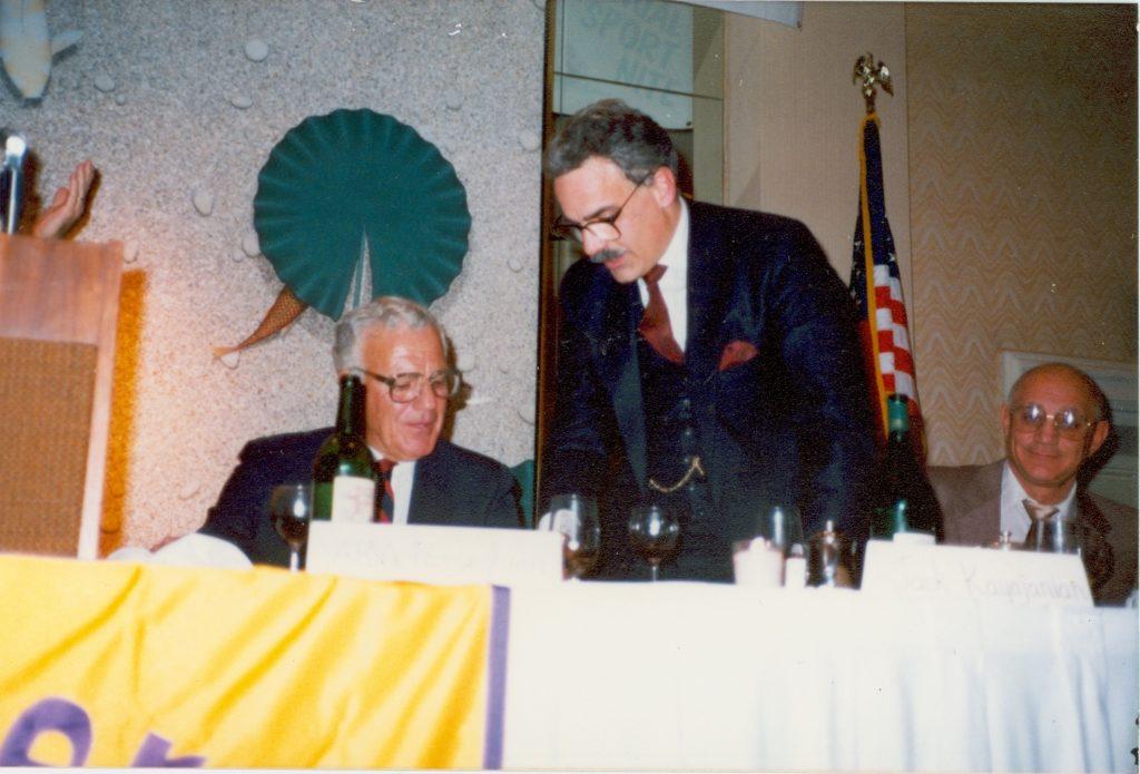 Ara Parseghian, Jack Kayajanian & Jerry Tarkanian