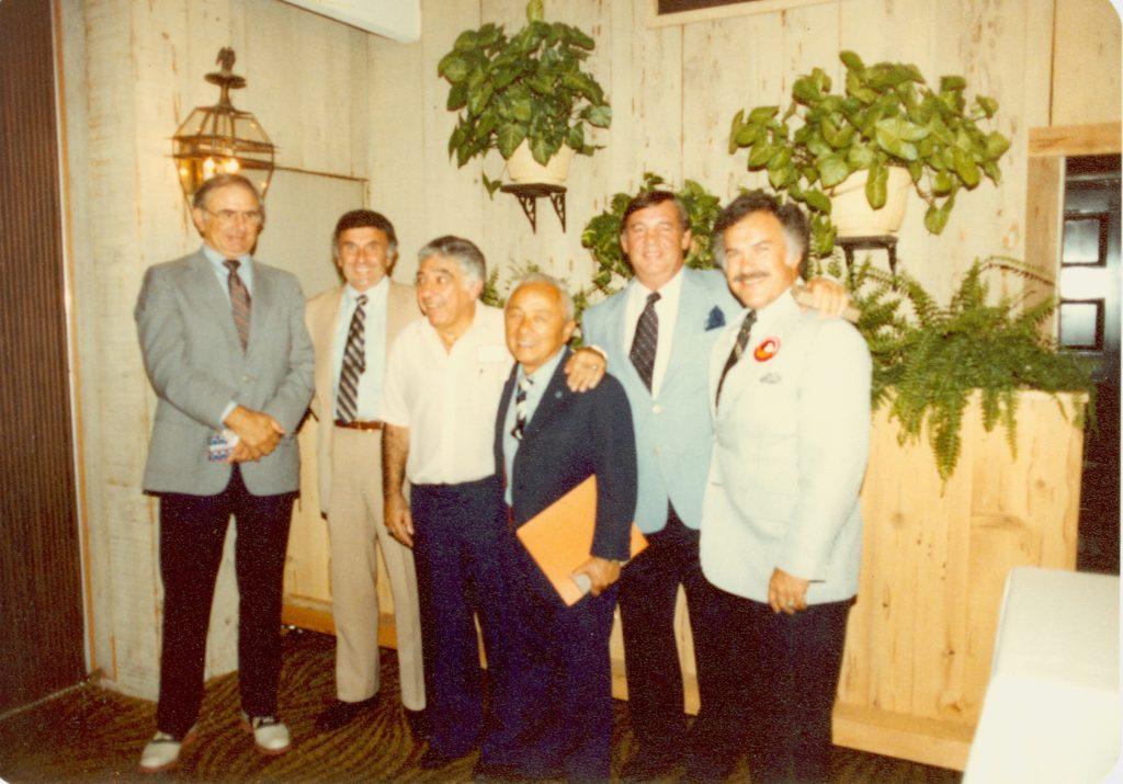 Paul Solata, ?, Ozzie Chitjian, Sammy Lee, ? & Mike Chitjian