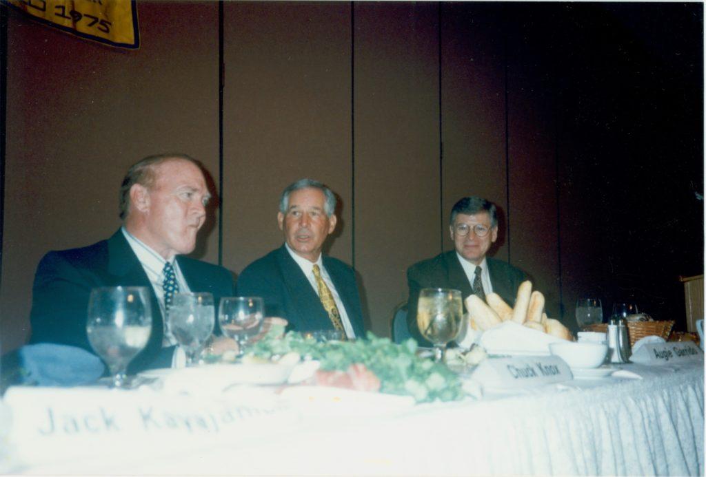 Chuck Knox, Augie Garrido & Ed Arnold