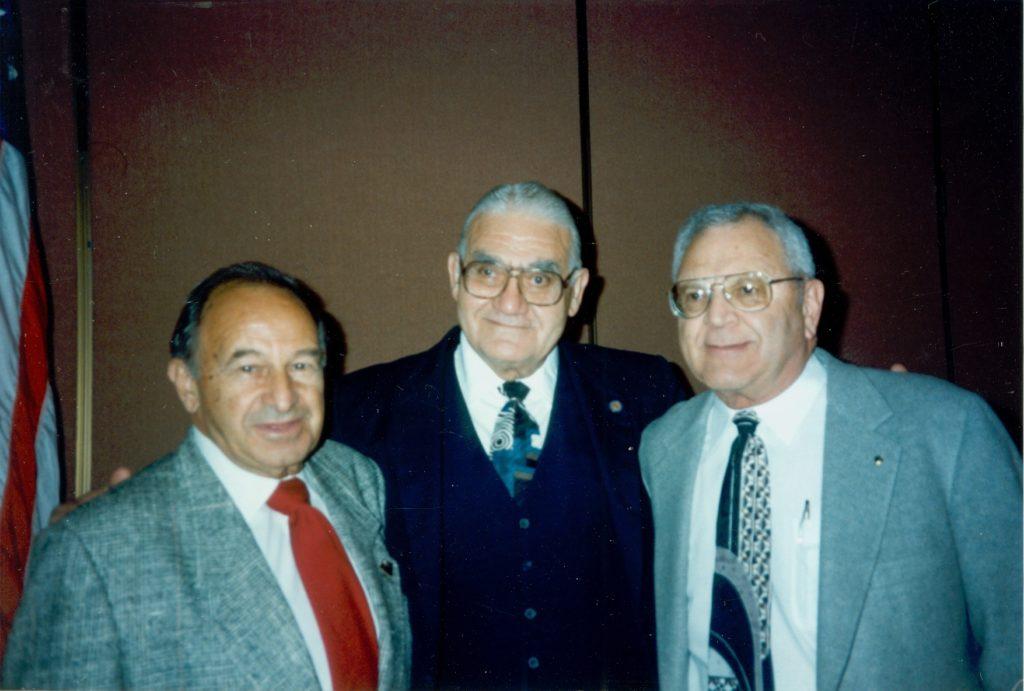 Mourad Najarian, Jack Faulkner & Ed Harver