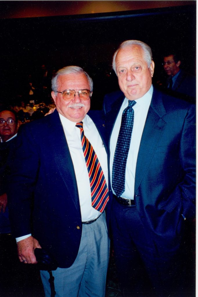 Haig Jamgochian & Tommy Lasorda