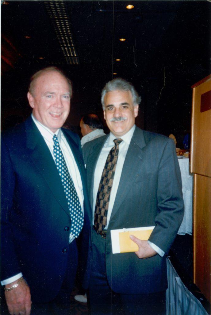 Chuck Knox & Jack Kayajanian